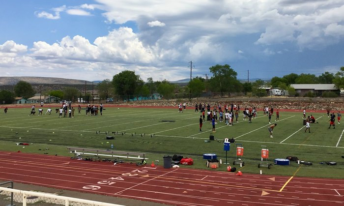South Mountain High School football camp.