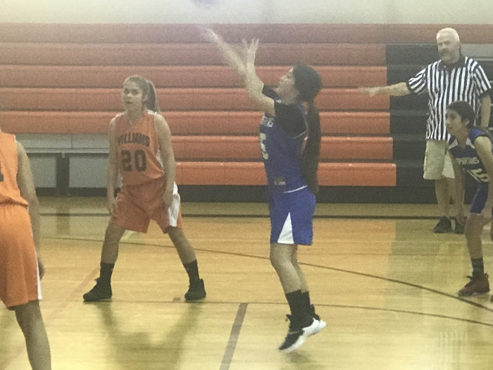 Made her free throw!!