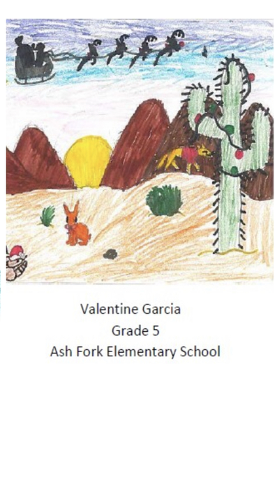 Valentine Garcia's Christmas Card Design
