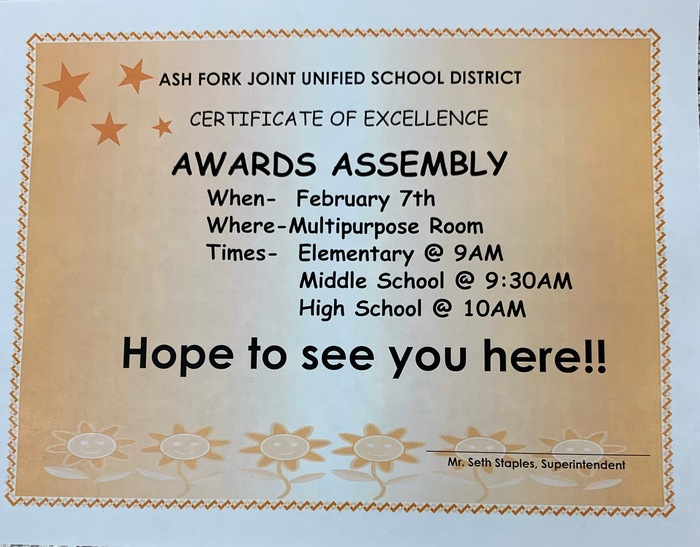 Awards Assembly