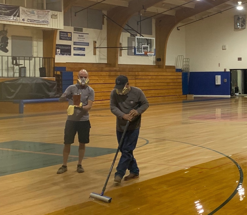 Summer Fun at Ash Fork Schools!  Maintenance Crews working hard to welcome students and staff back!!  See you all July 24th!!