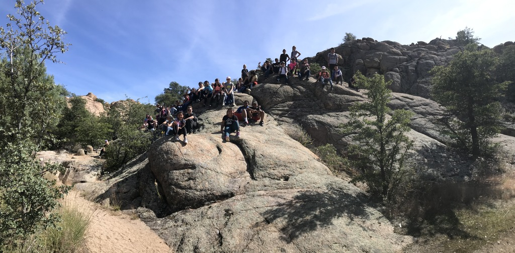 Team building hike to Willow Lake
