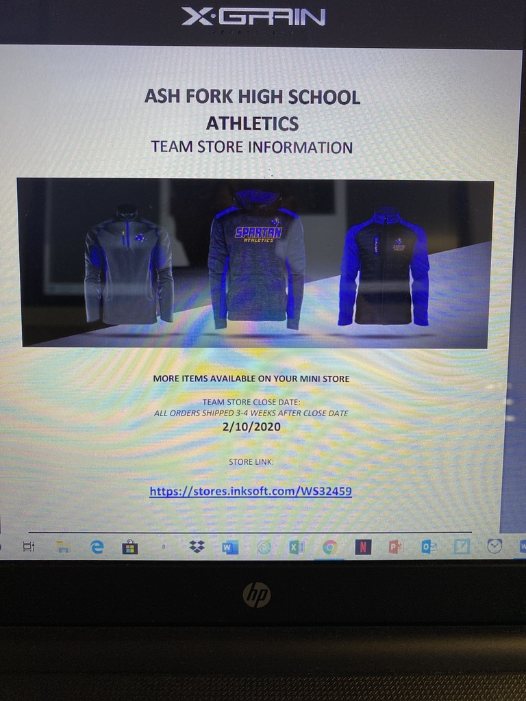 Ash Fork Booster Club is using X-Grain sports wear to raise some money. Please check it out and place orders by Monday, February 10, 2020. 3-4 week delivery after the store closes.