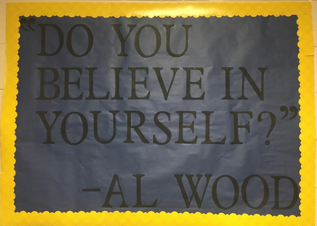 Quote from Al Wood