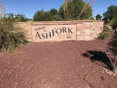 Welcome to Ash Fork Sign